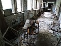 Abandoned Schoolhouse - Pripyat Ghost Town - Chernobyl Exclusion Zone - Northern Ukraine - 13 (26825418800).jpg