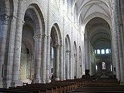 Abbaye Saint Benoit sur Loire intérieur