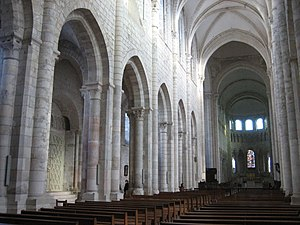 Fleury Abbey - In the nave