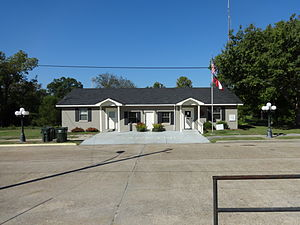 Abbeville, Georgia - Abbeville City Hall in Abbeville, Georgia