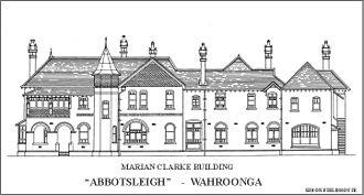 Abbotsleigh - Marian Clarke Building, Abbotsleigh (Elevation)