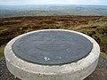Abdon Burf toposcope on Brown Clee Hill - geograph.org.uk - 724578.jpg