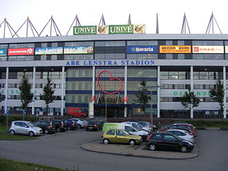 Abe Lenstra Stadion - East entrance of the stadion