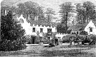 Aberpergwm House - Aberpergwm House before the 1876 remodelling