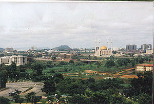 Nigerian nationalism - Abuja, the capital of Nigeria.