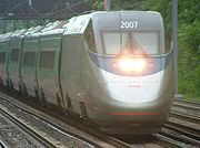 New London is visited daily by Amtrak's Acela Express