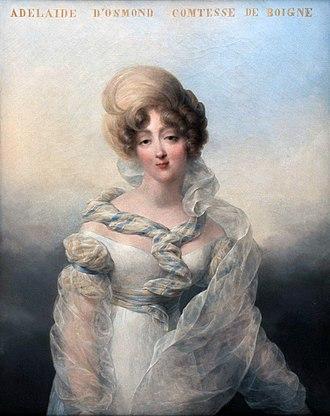 Château de Pontchartrain - Adèle d'Osmond, Countess of Boigne (1781-1866.)