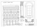 Adams and Company Building, 1014 Second Street, Sacramento, Sacramento County, CA HABS CAL,34-SAC,17- (sheet 3 of 6).png