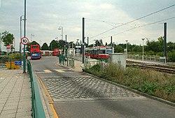 Addington Village bus and tram station