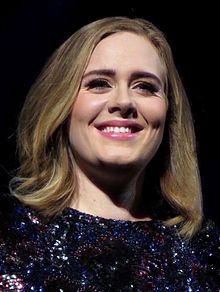 Adele - the cute, charming, talented, sweet,  musician  with English, Welsh,  roots in 2020