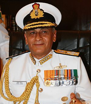 Chief of the Naval Staff (India) - Image: Admiral Sunil Lanba