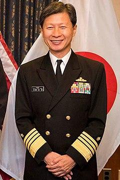 Admiral Tomohisa Takei 海上幕僚长武居智久海将 (USNavy Royal Navy Japan Maritime Self-Defence Force).jpg