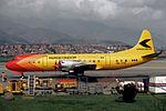 Aerocondor Colombia Lockheed L-188 Electra at Medellin.jpg