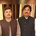Aftab Khan Khichi and His father Mumtaz Khan Khichi.jpg