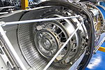 Afterburner of sectioned Rolls-Royce Turboméca Adour turbofan (1).jpg