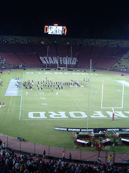 Aggies at Stanford (half-time show), September 17, 2005