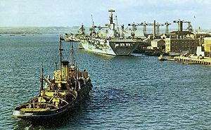Aircraft carriers at HMNB Portsmouth 1967.jpg