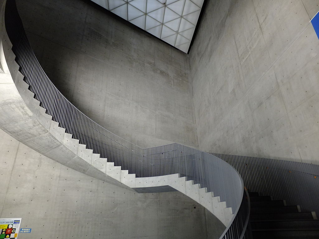 Akita Museum of Art, stairs