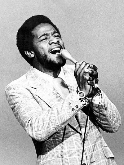 Green in an appearance on The Mike Douglas Show in 1973 Al Green 1973.jpg