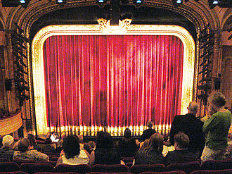 Al Hirschfeld Theatre - View to the stage.