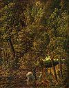 Laubwald mit dem Heiligen Georg
