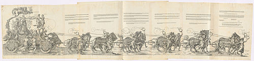 Albrecht Dürer - The Triumphal Chariot of Maximilian I (The Great Triumphal Car).jpg