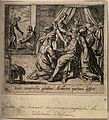 Alcmene giving birth to Hercules; Juno, jealous of the child Wellcome V0014905.jpg