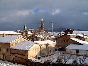 Alegría-Dulantzi - Image: Alegria de Alava (Dulantzi) Snowed