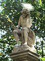 Alej poutní, včetně staveb a soch (Svatý Kopeček), sloup 3 socha.JPG