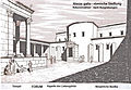 Alesia, FORUM, gallo-römische Sanktuarien, Rekonstruktion.JPG