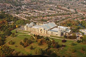 Alexandra Palace was built in an area between ...