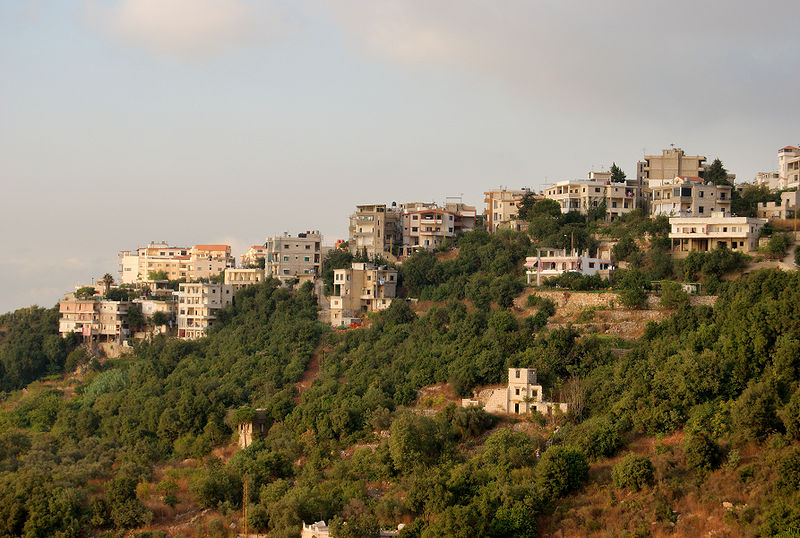 Fișier:Aley Lebanon Houses and hillside.jpg