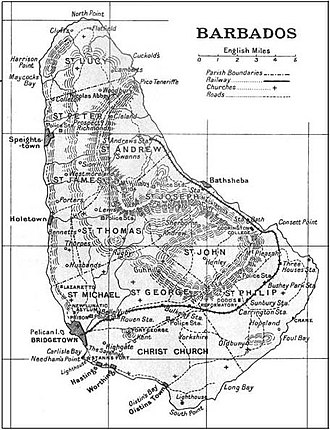 Barbados Railway - A. Aspinall: The Pocket Guide to the West Indies, 1923