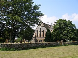 All Saint's Church and churchyard, Stanford - geograph.org.uk - 454058.jpg