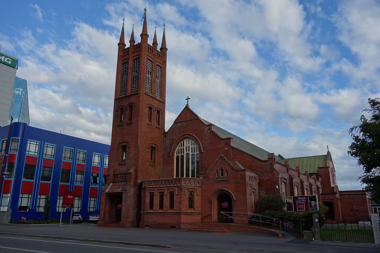 Photo of All Saints' Church building from the street