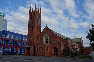 All Saints Church, Palmerston North - Image: All Saints Church, Palmerston North 036