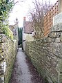 Alley from Becket Street to Church Street - geograph.org.uk - 689755.jpg