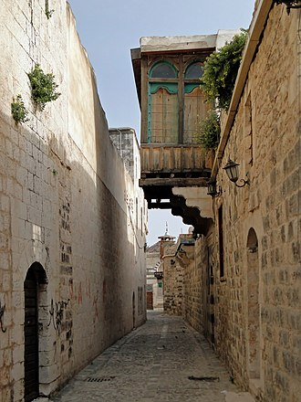 Hama - An alley in Old Hama