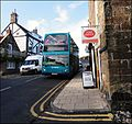 Alnmouth, Northumberland ... POST OFFICE with Arriva YJ57 BVD. - Flickr - BazzaDaRambler.jpg
