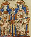 Alphonse the Chaste and Alphonse VIII of Castile.jpg