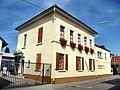 Alsheim- Weingut Rappenhof- von Bachstraße aus 16.8.2009.JPG