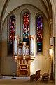 Altarbereich mit zweiter Orgel, Reformierte Stadtkirche, Kirchplatz 1 in Winterthur 2014-02-24 14-48-32.JPG