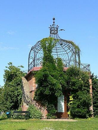 Old Botanical Garden, Kiel - The Old Botanical Garden in Kiel, pavilion