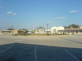Alvarado, Texas - Downtown Alvarado, November 2007