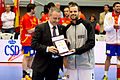 Amadeo Sorli y Francisco Blázquez - Jornada de las Estrellas de Balonmano 2013 - 01.jpg