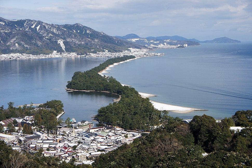 Amanohashidate view from Mt Moju02s3s4592
