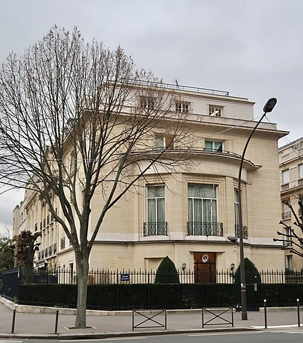 Embassy of Monaco, Paris, France