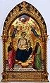 Ambrogio di baldese, maestà coi s. g. battista, pietro, angeli, e dio padre benedicente.jpg