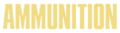 Ammunition (album) logo.png