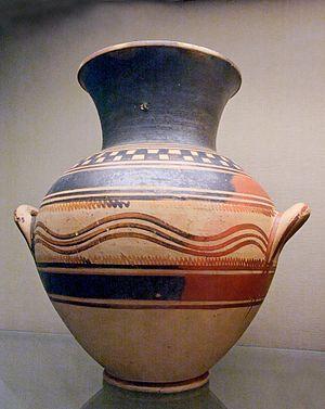 Dorian invasion - Proto-geometric pottery, of Athens, not Sparta.